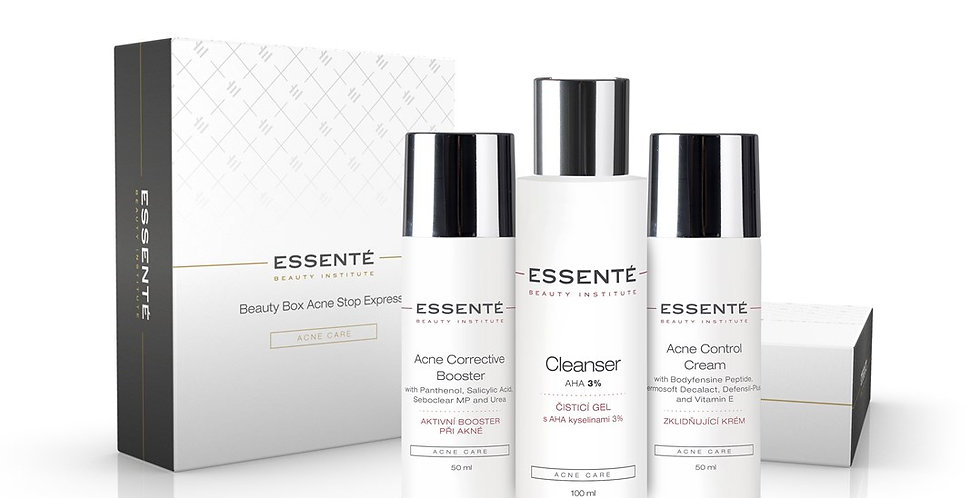 ESSENTÉ BEAUTY BOX ACNE STOP EXPRESS (3 KS)