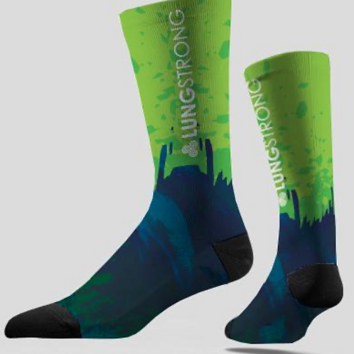 Team LUNGSTRONG Cycling Socks