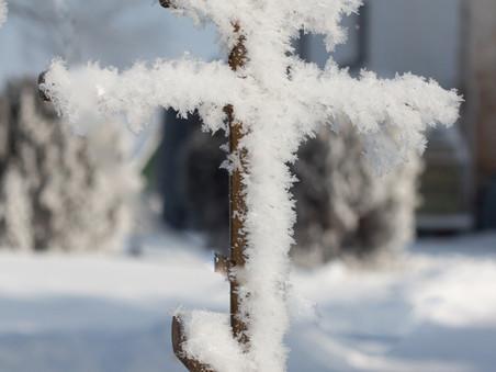 Свято-Миколаївський монастир: зима-2021