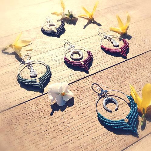 Earrings, rings, charms