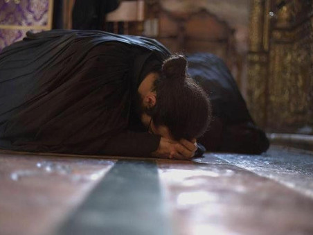 Про молитву: Святий біль