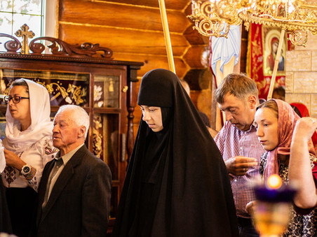Монахиня Василина: «Після постригу ти відкриваєш очі і розумієш, шо є тільки ти і Христос»