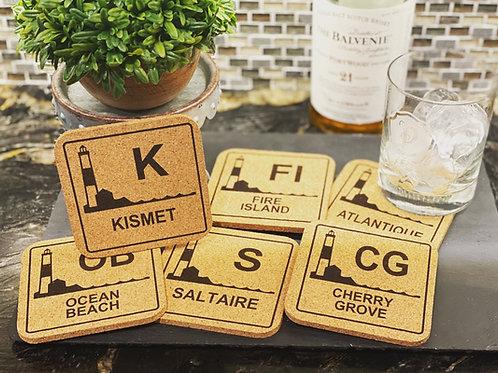 Fire Island Coasters