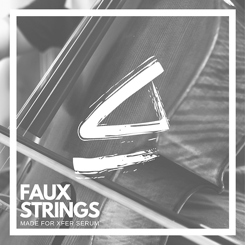 Faux String For Serum