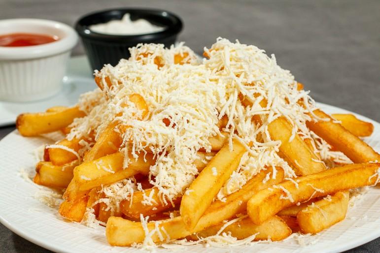 plazza restaurant fries Пържени Картофи