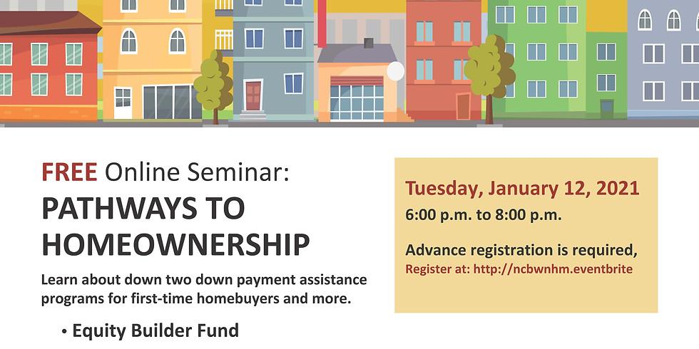 Wealth Generator Series: Real Estate: Pathways to Homeownership