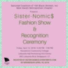Sister-Nomic$ Fashion Show Invite (1).pn