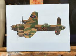 Landcaster Bomber