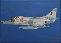Finished A4 Skyhawk