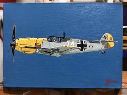 "Oil on canvas. 7""x 5"""