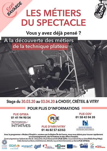 Affiche Expo Bavarde - PLIE - Session PL