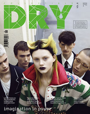 COLLECTIBLE DRY MAGAZINE COVER ISSUE #8