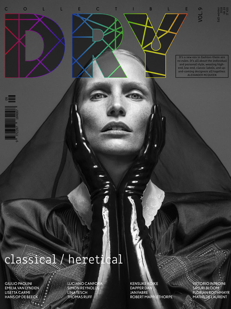 COLLECTIBLE DRY MAGAZINE COVER ISSUE #9