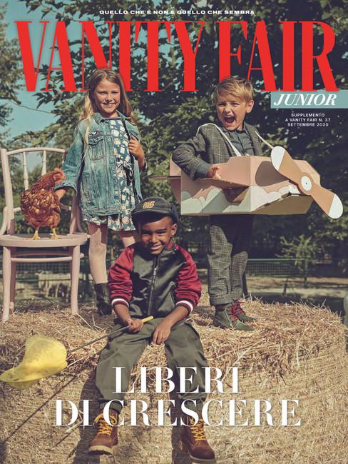 Nella Vecchia Fattoria - VANITY FAIR KIDS - COVER N. 37 SETTEMBRE 2020