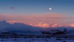 Moon over Page, AZ