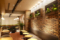 植物、レンタル、お店に植物を設置し、安らぎの空間