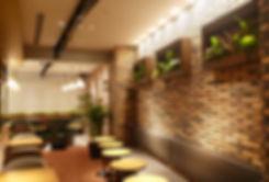 貸し植木、絵画植物、額縁植物、おしゃれなカフェ