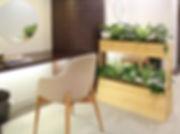 貸し植木 貸し木 貸し鉢 植物レンタル パーテショングリーンで癒しの空間n