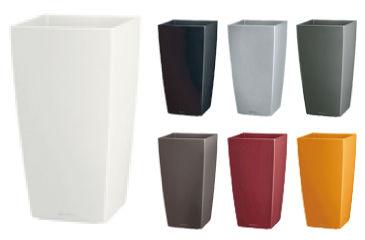 容器のカラーバリエーション、おしゃれな空間