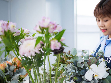 What flowers do we prepares for clients?