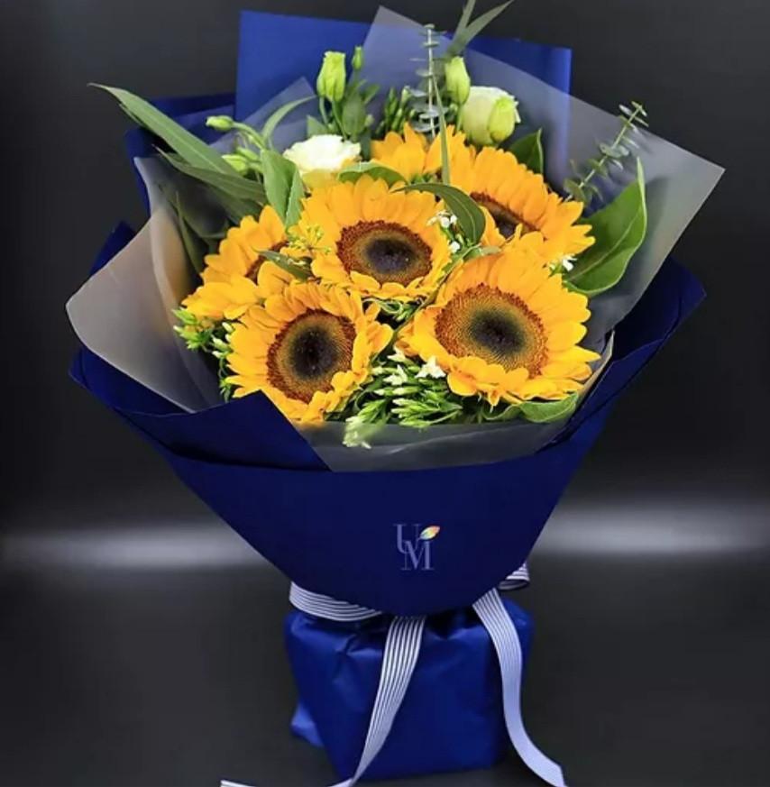 向日葵花束 畢業花束 太陽花