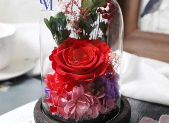 Preserved Flowers 永生花 保鮮花 紅玫塊