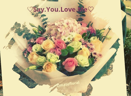 ♡ Say You Love Me♡  by sending flowers