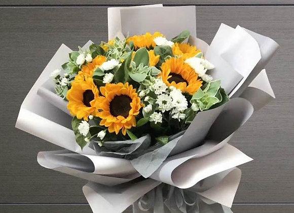 向日葵花束系列九 Sunflower Bouquet Set I