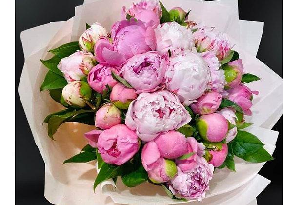 牡丹花束 Peony bouquet in Pink