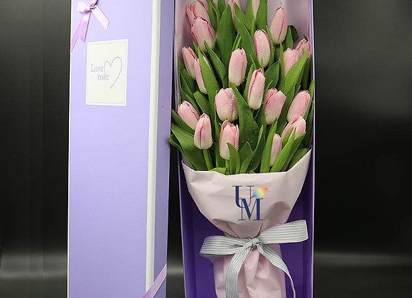鬱金香盒裝 Tulips in Box
