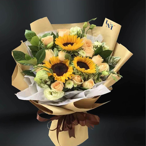向日葵花束系列十 Sunflower Bouquet Set J
