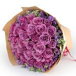 Order bouquet Purple Roses Bouquet 紫玫瑰花束