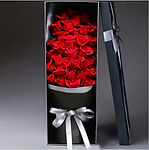 Red Roses in Box 紅玫瑰禮盒裝 online bouquet o