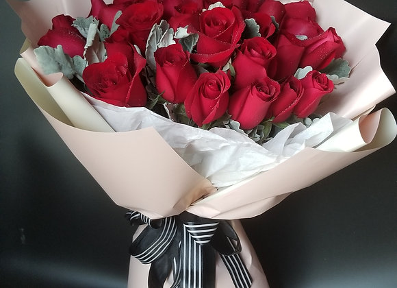 Roses Bouquet Red