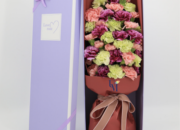 盒裝康乃馨 Carnation in Box