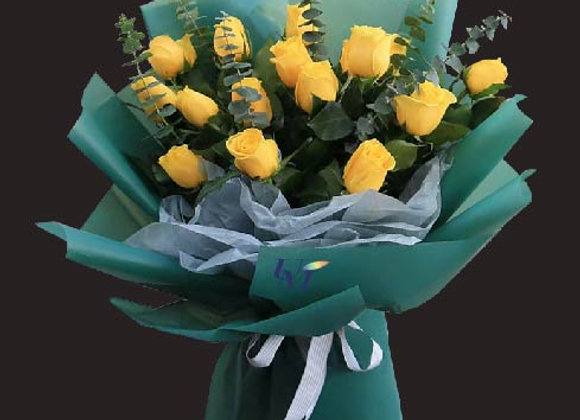 Roses Bouquet Yellow