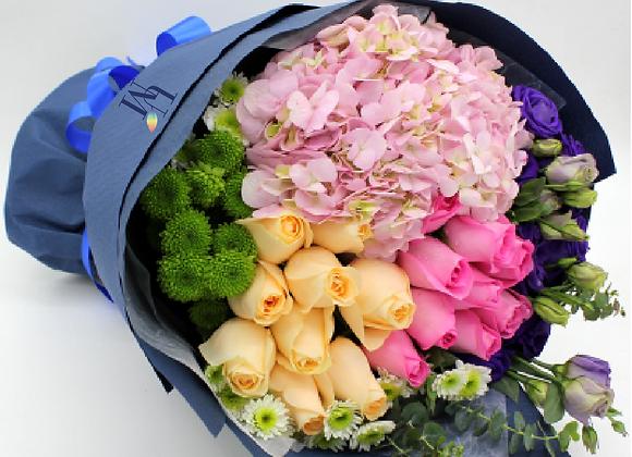 繡球花束 Hydrangea Bouquet Set