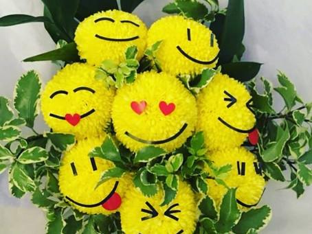 ♡Umatefloral ♡emoji bouquets ♡