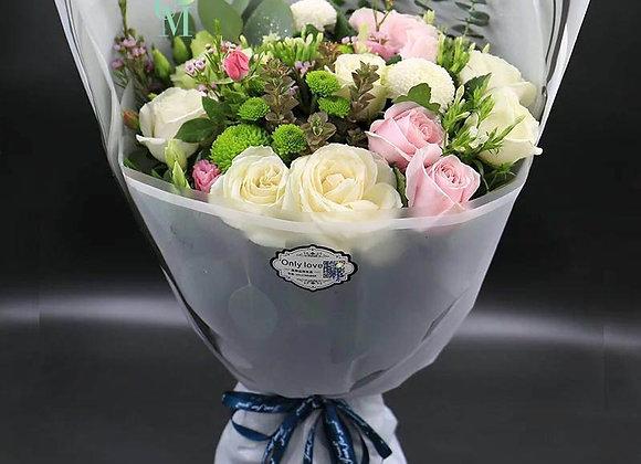 玫塊花束 Rose Bouquet Set