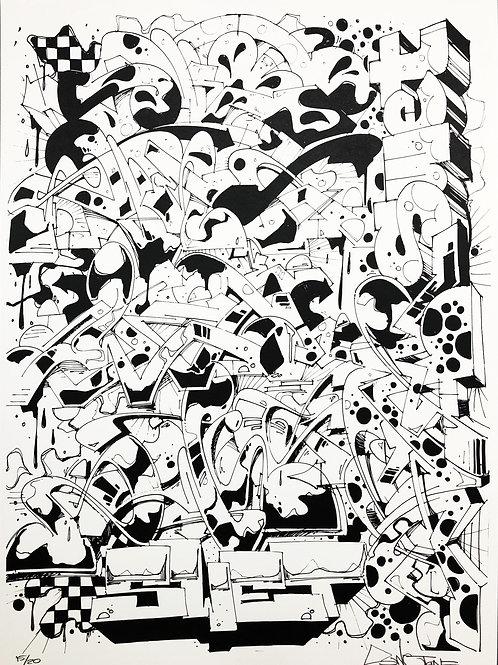 black print 1/15