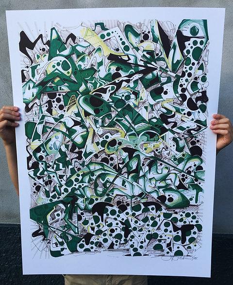Green print 1/30