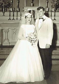 Jim & Rose Flanagan Wedding picture 1958