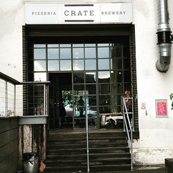 First brewery stop takes us to _cratebre