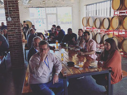 Brewery tour for _wustl_official