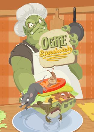 OGRE SANDWICH BOARD GAME