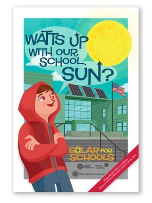 SOLAR FOR SCHOOLS POSTER