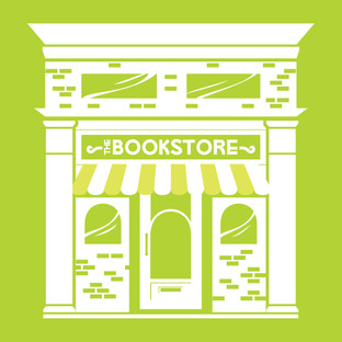 Campus Book Store Rental Spot Illustrations