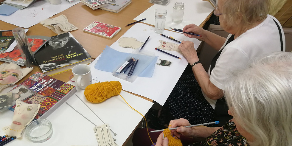 WORKSHOP: Drawing and Making with dementia 07/10/2019