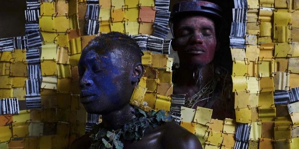 PERFORMANCE: Serge Attukwei Clottey and GoLokal