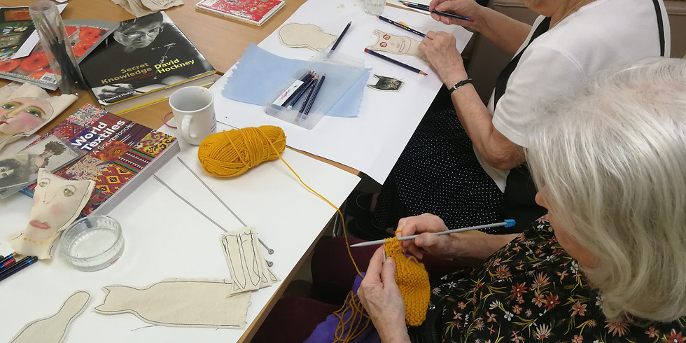 WORKSHOP: Dementia-friendly drawing and making